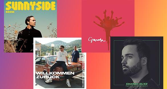 Neue Titel auf 1A Deutsche Hits - Albumcover